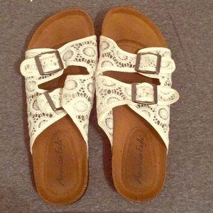 American Eagle Lace Sandals